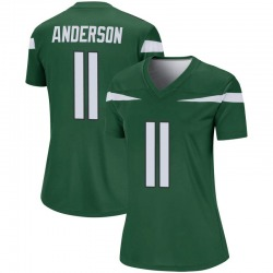Legend Women's Robby Anderson New York Jets Nike Player Jersey - Gotham Green