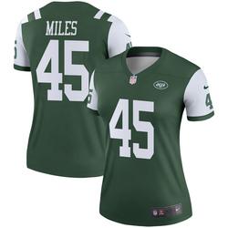 Legend Women's Rontez Miles New York Jets Nike Jersey - Green