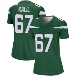 Legend Women's Ryan Kalil New York Jets Nike Player Jersey - Gotham Green