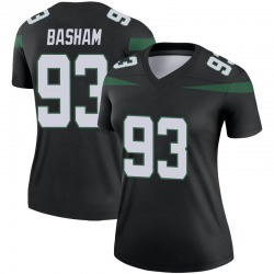 Legend Women's Tarell Basham New York Jets Nike Color Rush Jersey - Stealth Black