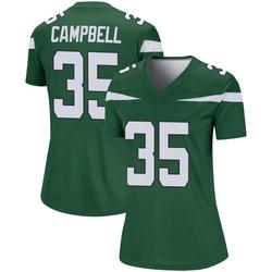 Legend Women's Tevaughn Campbell New York Jets Nike Player Jersey - Gotham Green