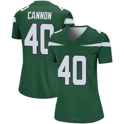 Legend Women's Trenton Cannon New York Jets Nike Player Jersey - Gotham Green