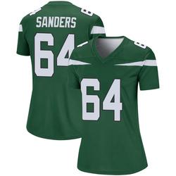 Legend Women's Trevon Sanders New York Jets Nike Player Jersey - Gotham Green