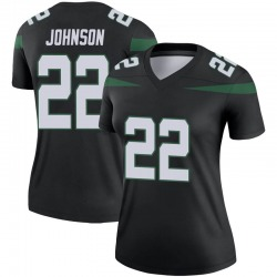 Legend Women's Trumaine Johnson New York Jets Nike Color Rush Jersey - Stealth Black