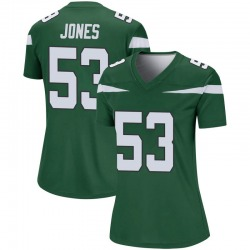 Legend Women's Tyler Jones New York Jets Nike Player Jersey - Gotham Green