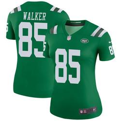 Legend Women's Wesley Walker New York Jets Nike Color Rush Jersey - Green
