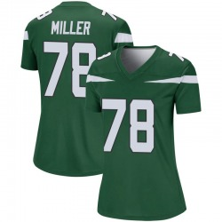 Legend Women's Wyatt Miller New York Jets Nike Player Jersey - Gotham Green