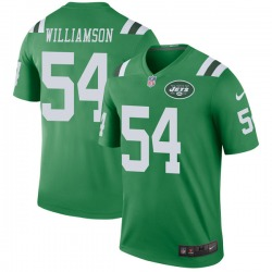 Legend Youth Avery Williamson New York Jets Nike Color Rush Jersey - Green