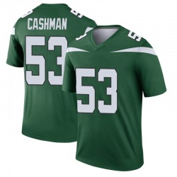 Legend Youth Blake Cashman New York Jets Nike Player Jersey - Gotham Green
