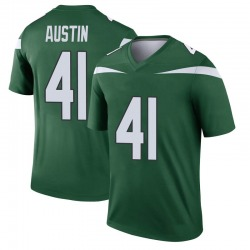Legend Youth Blessuan Austin New York Jets Nike Player Jersey - Gotham Green
