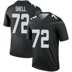 Legend Youth Brandon Shell New York Jets Nike Color Rush Jersey - Stealth Black