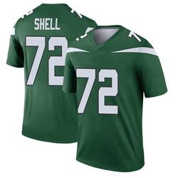 Legend Youth Brandon Shell New York Jets Nike Player Jersey - Gotham Green