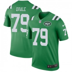 Legend Youth Brent Qvale New York Jets Nike Color Rush Jersey - Green
