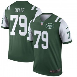 Legend Youth Brent Qvale New York Jets Nike Jersey - Green