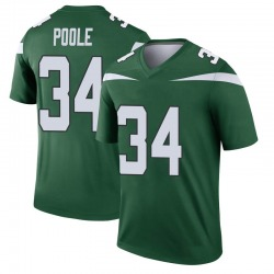 Legend Youth Brian Poole New York Jets Nike Player Jersey - Gotham Green