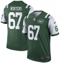 Legend Youth Brian Winters New York Jets Nike Jersey - Green