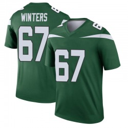Legend Youth Brian Winters New York Jets Nike Player Jersey - Gotham Green