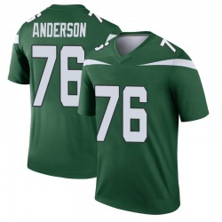 Legend Youth Calvin Anderson New York Jets Nike Player Jersey - Gotham Green