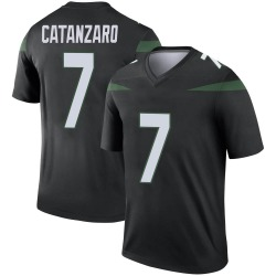 Legend Youth Chandler Catanzaro New York Jets Nike Color Rush Jersey - Stealth Black