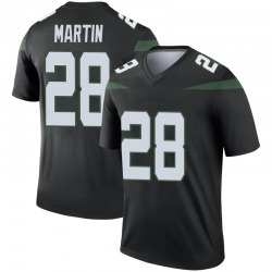 Legend Youth Curtis Martin New York Jets Nike Color Rush Jersey - Stealth Black