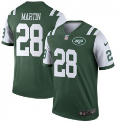 Legend Youth Curtis Martin New York Jets Nike Jersey - Green