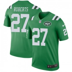 Legend Youth Darryl Roberts New York Jets Nike Color Rush Jersey - Green