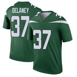 Legend Youth Dee Delaney New York Jets Nike Player Jersey - Gotham Green