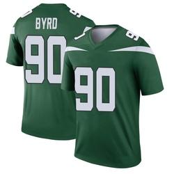 Legend Youth Dennis Byrd New York Jets Nike Player Jersey - Gotham Green