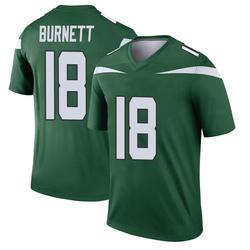 Legend Youth Deontay Burnett New York Jets Nike Player Jersey - Gotham Green
