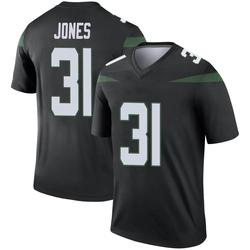 Legend Youth Derrick Jones New York Jets Nike Color Rush Jersey - Stealth Black