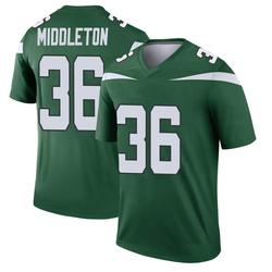 Legend Youth Doug Middleton New York Jets Nike Player Jersey - Gotham Green