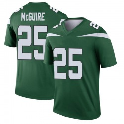 Legend Youth Elijah McGuire New York Jets Nike Player Jersey - Gotham Green