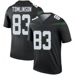 Legend Youth Eric Tomlinson New York Jets Nike Color Rush Jersey - Stealth Black