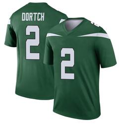 Legend Youth Greg Dortch New York Jets Nike Player Jersey - Gotham Green
