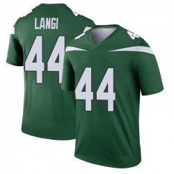 Legend Youth Harvey Langi New York Jets Nike Player Jersey - Gotham Green