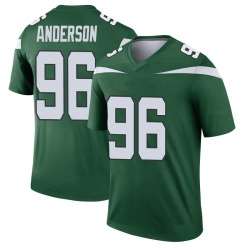 Legend Youth Henry Anderson New York Jets Nike Player Jersey - Gotham Green
