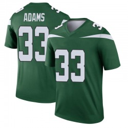 Legend Youth Jamal Adams New York Jets Nike Player Jersey - Gotham Green