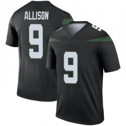 Legend Youth Jeff Allison New York Jets Nike Color Rush Jersey - Stealth Black