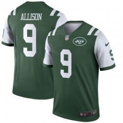 Legend Youth Jeff Allison New York Jets Nike Jersey - Green