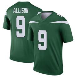 Legend Youth Jeff Allison New York Jets Nike Player Jersey - Gotham Green