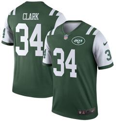 Legend Youth Jeremy Clark New York Jets Nike Jersey - Green