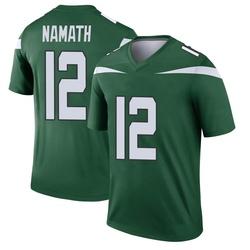 Legend Youth Joe Namath New York Jets Nike Player Jersey - Gotham Green