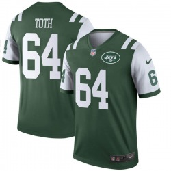 Legend Youth Jon Toth New York Jets Nike Jersey - Green