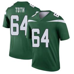 Legend Youth Jon Toth New York Jets Nike Player Jersey - Gotham Green