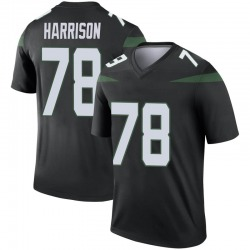 Legend Youth Jonotthan Harrison New York Jets Nike Color Rush Jersey - Stealth Black