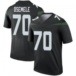 Legend Youth Kelechi Osemele New York Jets Nike Color Rush Jersey - Stealth Black