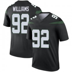 Legend Youth Leonard Williams New York Jets Nike Color Rush Jersey - Stealth Black