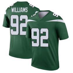 Legend Youth Leonard Williams New York Jets Nike Player Jersey - Gotham Green