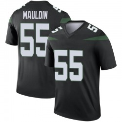 Legend Youth Lorenzo Mauldin New York Jets Nike Color Rush Jersey - Stealth Black