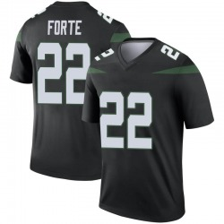 Legend Youth Matt Forte New York Jets Nike Color Rush Jersey - Stealth Black